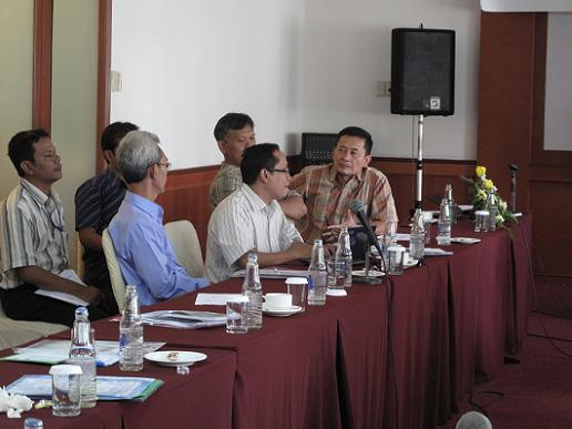 Suasana pelatihan hari kedua, yang fokus kepada diantaranya manajemen kualitas biogas.