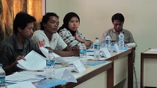Pelatihan ini bertujuan memberikan pemahaman bagi para calon pelatih biogas.