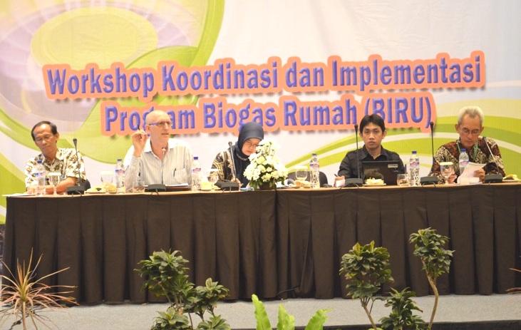 Pembicara dalam Workshop Koordinasi dan Implementasi