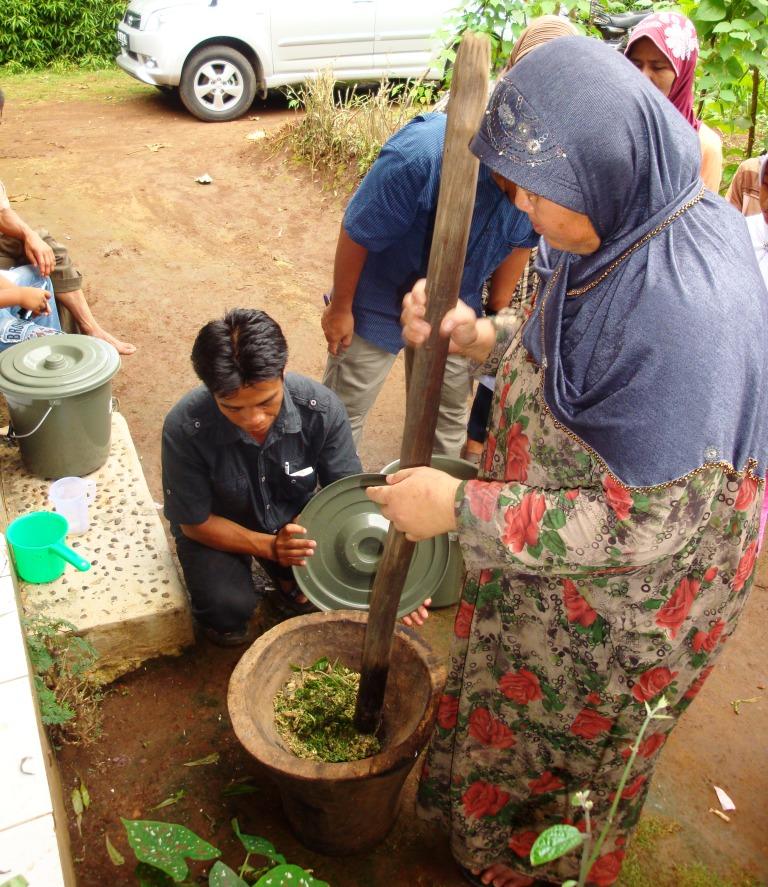 Praktek Pembuatan Biopestisida di Cilembu_Sumedang