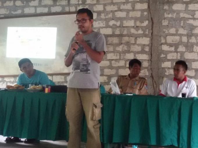 Sosialisasi Program BIRU dan GADING di Kecamatan Lewa - Sumba Timur