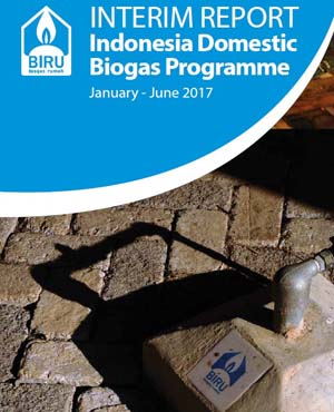 Laporan Interim Report 2017 (Januari-Juni 2017) Program Biogas Rumah (BIRU) Juli 2017