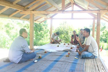 Warga Dusun Sentul Asli Terima Kunjungan dari Jakarta